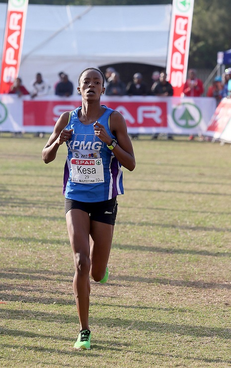 Kesa Molotsane in action in Durban