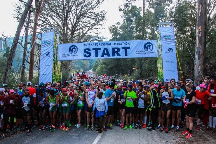 The 2017 Knysna Forest Marathon took place in Knysna today. The men's marathon was won by Mzwanele Maphekula and the women's marathon by Leilani Scheffer.