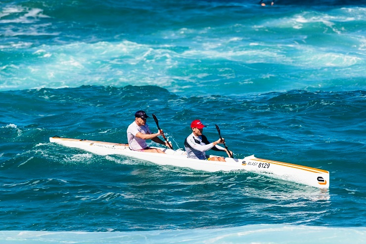 Hank McGregor and Lee Furby ran out winners at the two-day Dolphin Coast Challenge at Salt Rock on Sunday.