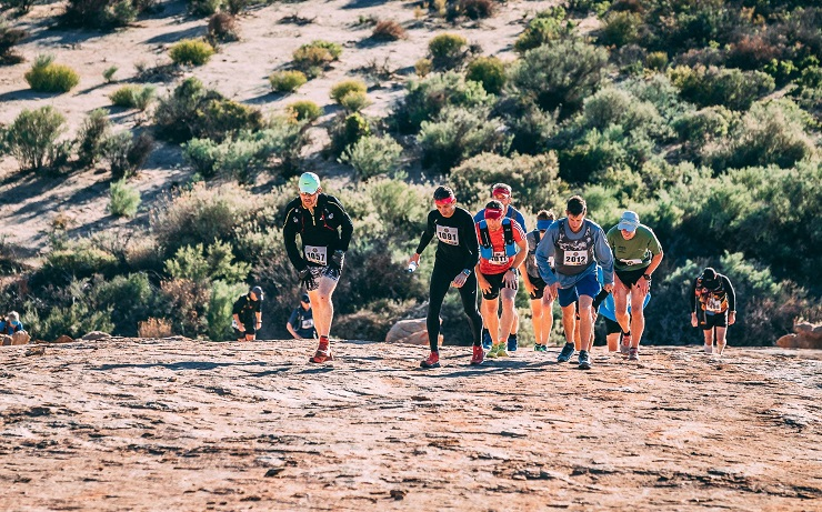 Trail runners in action during the Namaqua Quest event.