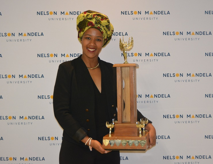Nelson Mandela University's Nolusindiso Twani, who was named the institution's Sportswoman of the Year, says she has a lot more to learn.