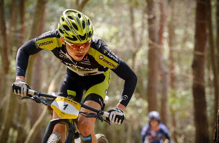 Yuki Ikeda in action