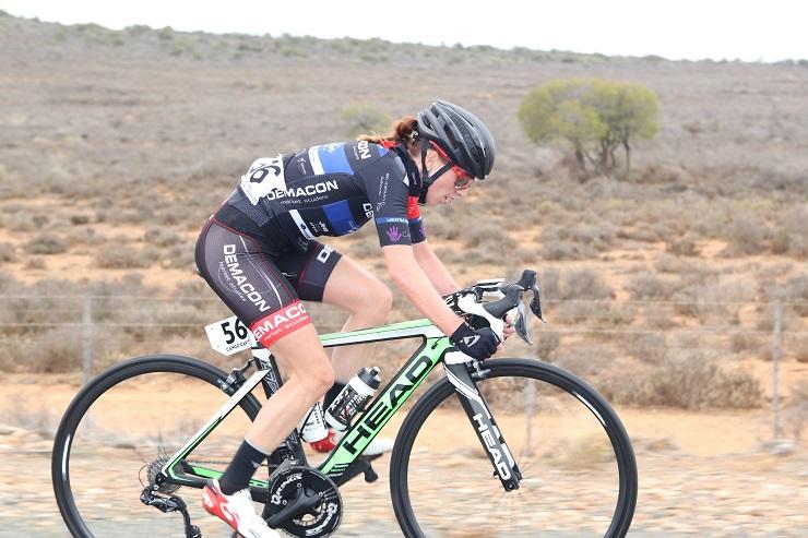 Demacon Women's Team rider Carla Oberholzer