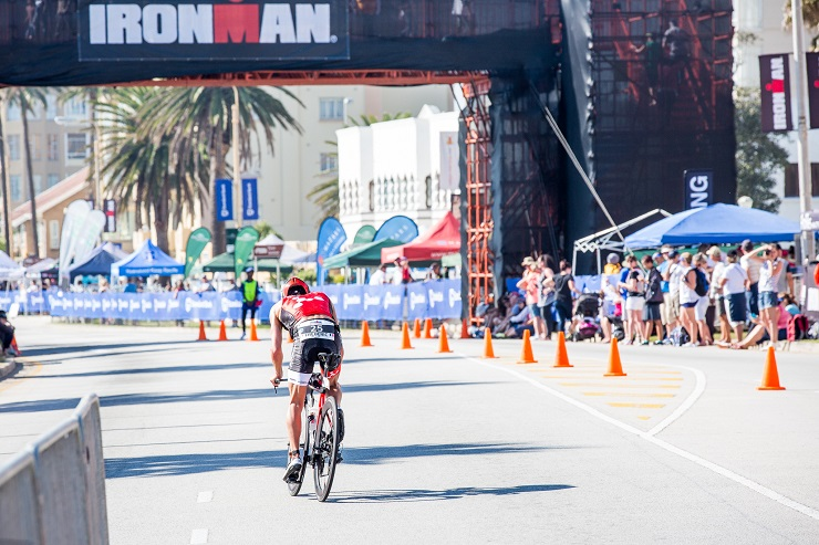 The Ironman African Championship, in Port Elizabeth, received a top 10 ranking in six categories in the 2017 Athlete's Choice Awards. Photo: Chris Hitchcock