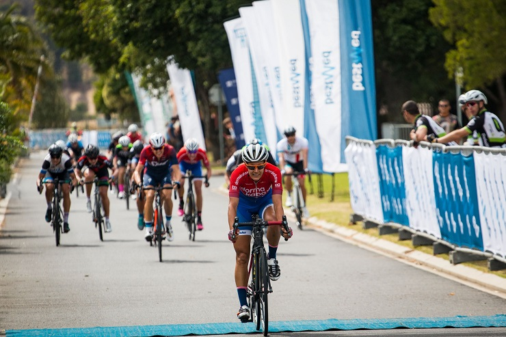 Vera Adrian wins stage one of Bestmed Tour of Good Hope