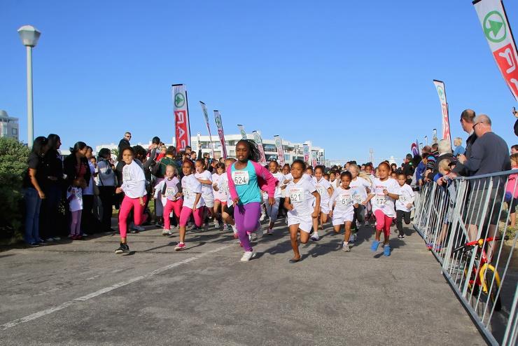 SPAR Little Ladies race