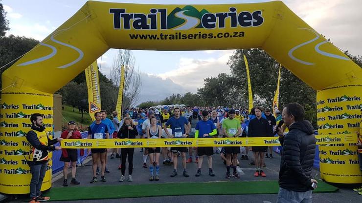 Cape Winter Trail Series #3 start