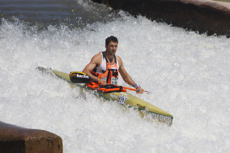 Andy Birkett Fish River Canoe Marathon stage two