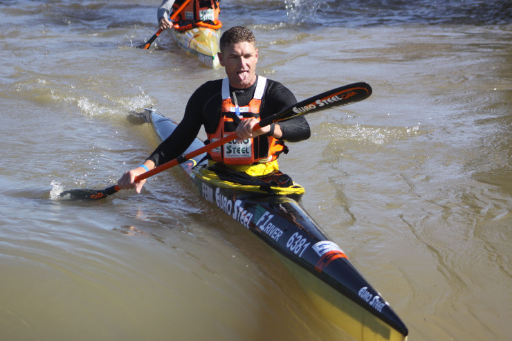 Hank McGregor Fish River Canoe Marathon stage one