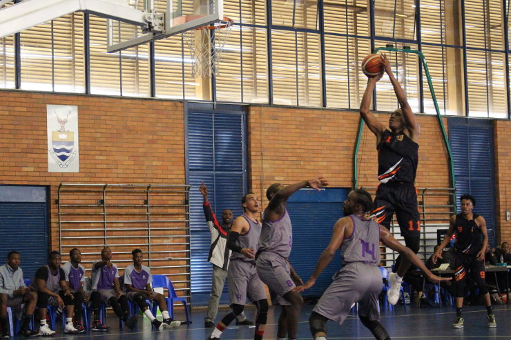 UJ basketball Nqosa Lehloenya