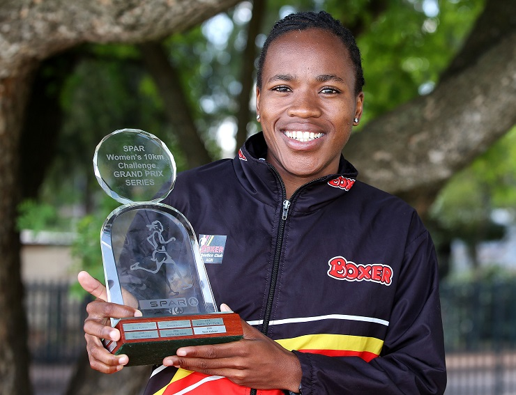 Glenrose Xaba won this year's SPAR Grand Prix series