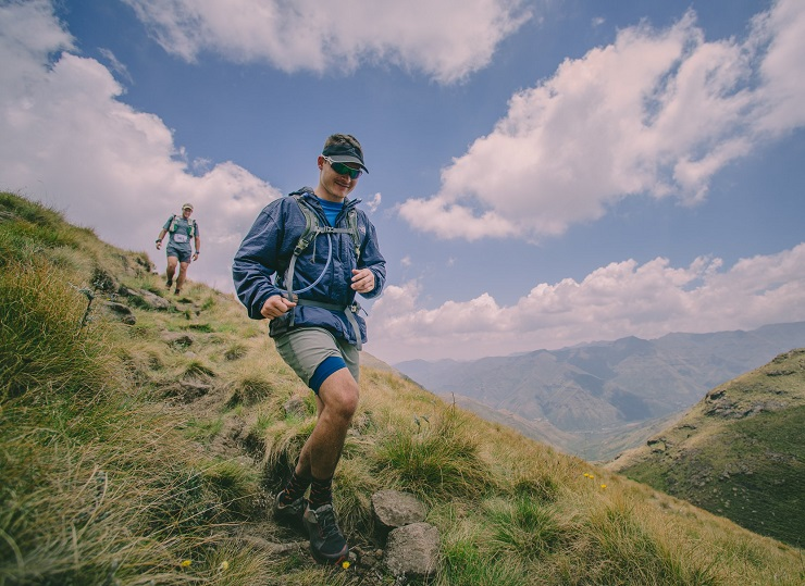Contestants in action during the Lesotho Ultra Trail. Photo: Phonix Capture cc-Professional Photography and Videography