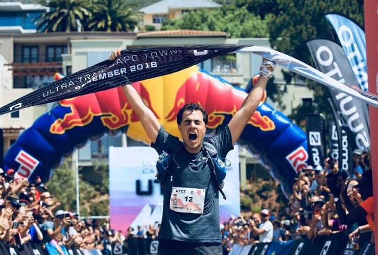 Ultra Trail Cape Town Janosch Kowalczyk winner of 100km