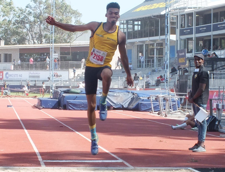 Chrissio Roberts Madibaz athlete