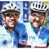 Justin van der Linde (left), Albertus Jooste TransCape MTB Encounter