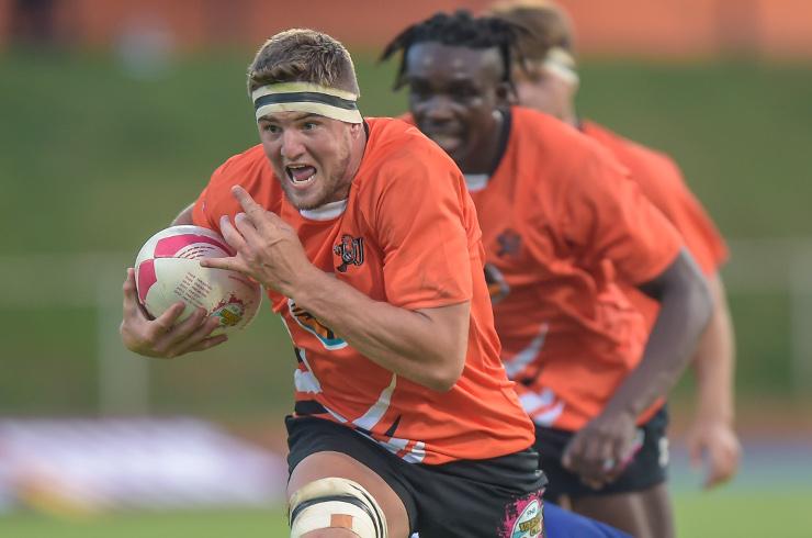 Adriaan Bester UJ rugby