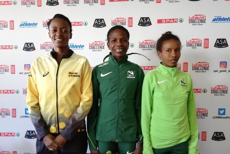 SPAR Women's Challenge 2019 top three
