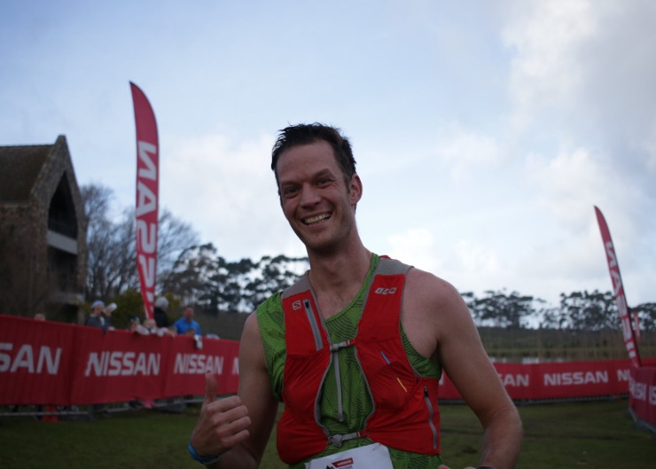 Chris Visser Trailseeker trail run