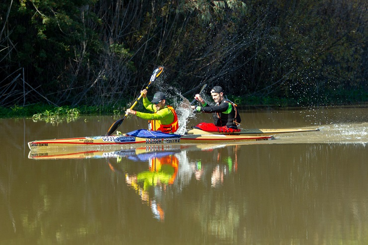 Graeme Solomon and Adrián Boros claimed victory on day two of the Berg River Canoe Marathon