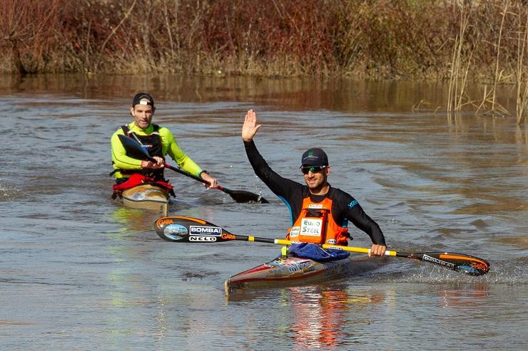 Graeme Solomon and Adrian Boros won the opening stage of the Berg River Canoe Marathon
