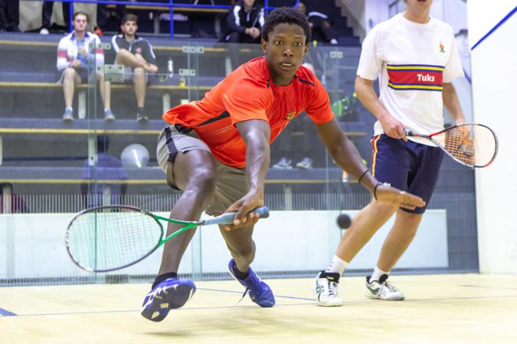 Blessing Muhwati UJ squash player