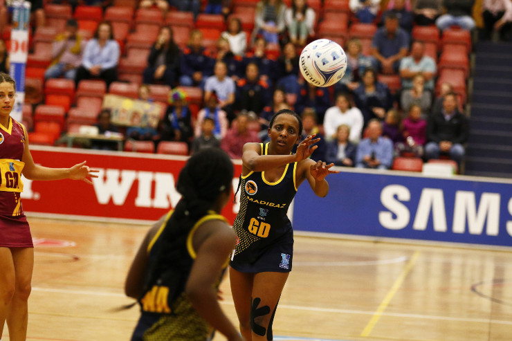 Hlumisa Sithonga Varsity Netball
