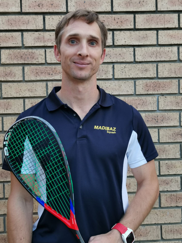 Madibaz player-coach Jason le Roux has had an influential role on squash at the varsity since he moved to Port Elizabeth in 2011.
