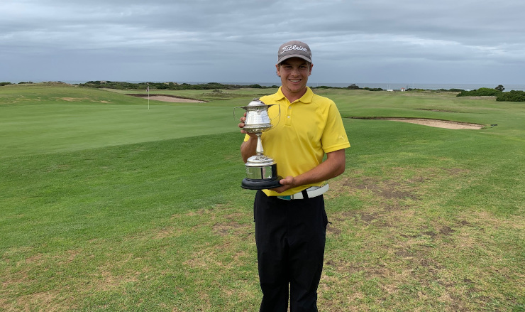 Madibaz student-athlete JP van der Watt has made an impact in his first year at Nelson Mandela University, winning the Humewood Golf Club championships in March.