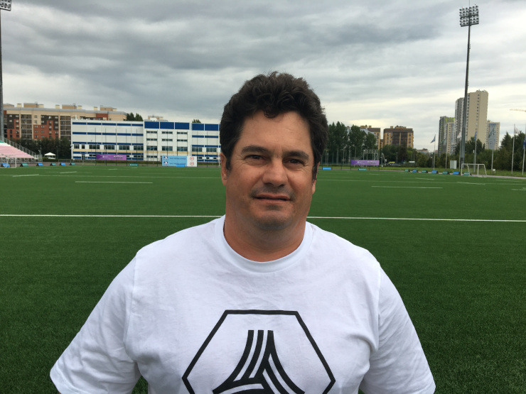 New Madibaz Rugby coach Andre Tredoux